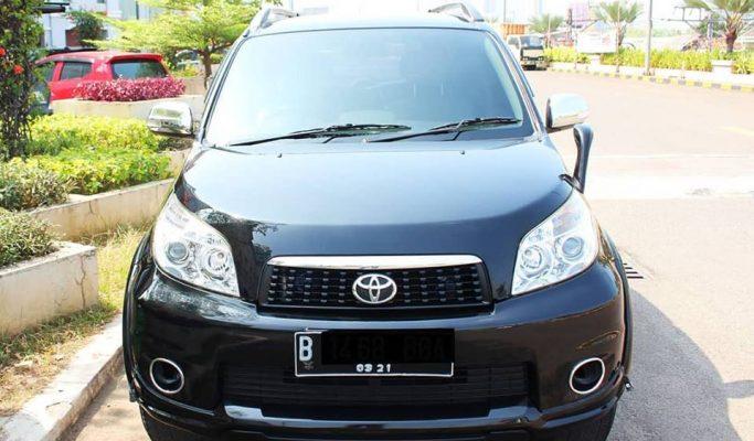 Mobil Bekas Toyota Rush S A/T 2011